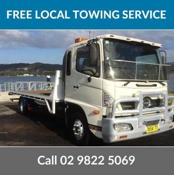 Free towing Sydney